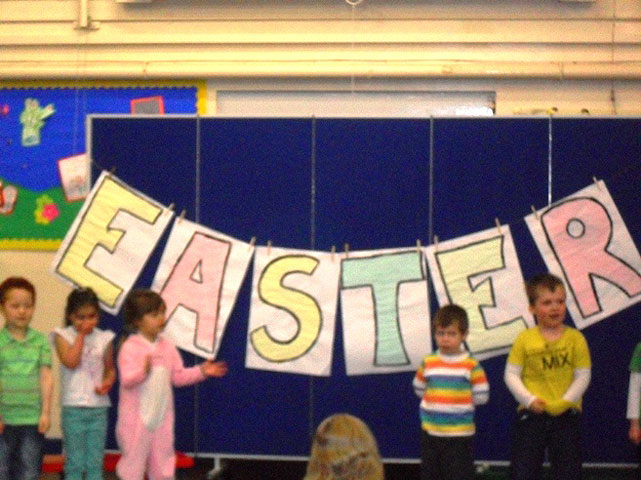 Ladybirds Easter Assembly