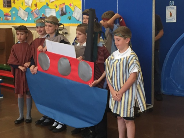Open the Book Assembly: Jonah and the Whale