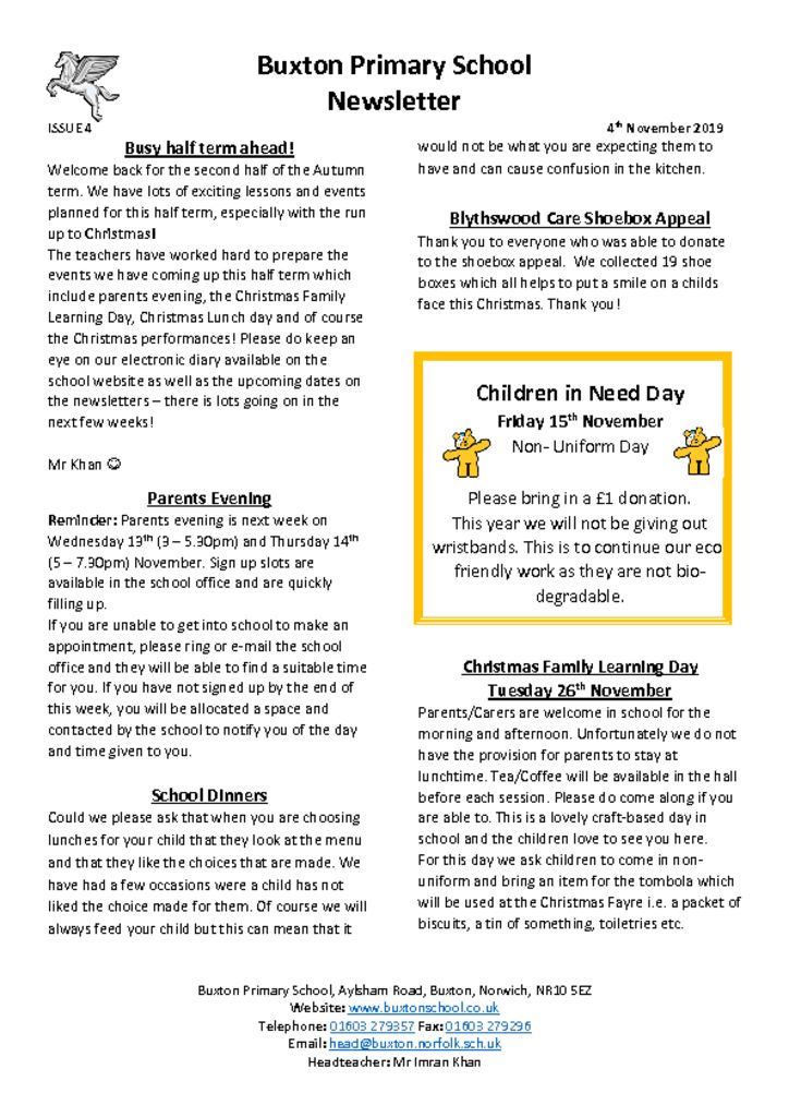thumbnail of Newsletter 4.11.19